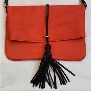H&M Foldover Shoulder Bag with Tassel